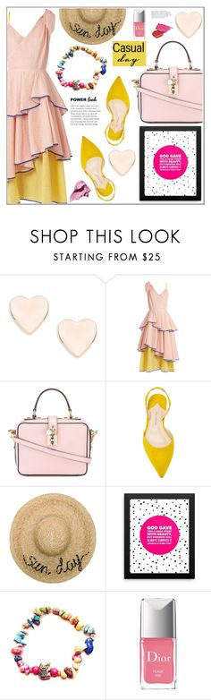 """What's Your Power Look?"" by samra-bv ❤ liked on Polyvore featuring Ted Baker, Anna October, Dolce&Gabbana, Paul Andrew, Eugenia Kim, Christian Dior, Bobbi Brown Cosmetics, contestentry, polyvoreset and MyPowerLook"