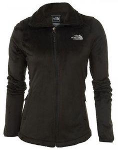 North Face Osito 2 Womens C782-JK3 Black Fleece Full Zip Jacket Wmns Size M