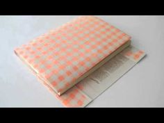 Clever little wrapping paper plus instructions idea
