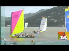 """The most challenging sailing competition in the world. """"Tour des Yoles Rondes 2012"""" in Martinique"""