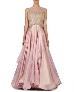 Pink Gown from Shantanu & Nikhil Collection