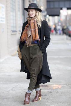 NY Street Fashion - Prohibition meets the street.