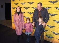 Dimanche matin, la princesse Marie a assisté à la première du dessin animé Lego Batman avec ses deux enfants, Henrik et Athena qui avait li...