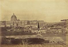 San Pietro visto dal Gianicolo Anno: 1855 ca