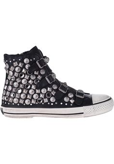 Ash - Victim Sneaker Black Leather