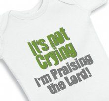 It is not Crying I am Praising the Lord