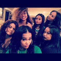 #WestBrooksGirls !  I ❤️ There Family bond!!! :/ #wishfulthinking