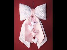 Fiocco nascita rosa - YouTube