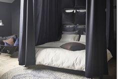 NATTJASMIN påslakansset i en härlig mjuk säng