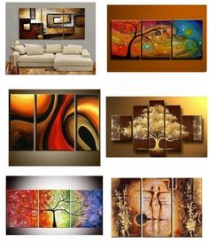 Multi Canvas Painting, Living Room Canvas Painting, 3 Piece Canvas Art, Abstract Canvas Wall Art, Large Canvas Art, Large Canvas Paintings, Modern Paintings, Painted Canvas, Abstract Paintings