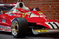 1977 312 T2 Number 11 driven by Niki Lauda