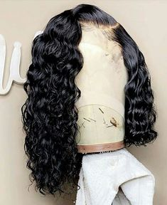 Pre Plucked Water Wave Lace Front Bob Wigs 150 Density Swiss Lace With Baby Hair Bleached Knots Baddie Hairstyles, Weave Hairstyles, Pretty Hairstyles, Saree Hairstyles, Casual Hairstyles, Elegant Hairstyles, African Hairstyles, Straight Hairstyles, Wedding Hairstyles