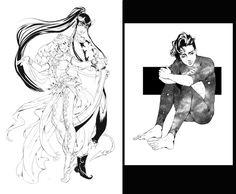 Commissions 09 by Ailovc.deviantart.com on @DeviantArt
