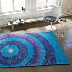 Eccentric 8' x 10' Area Rug #Decor, #Design, #Rug