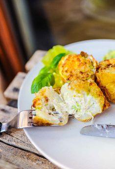 Ziemniaki zapiekane faszerowane porami i serem
