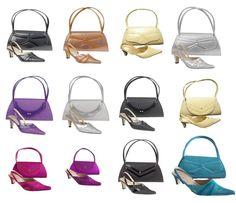 eefedb7d6e New womens ladies low heel shoes   matching bag set rrp £29.99 large sizes