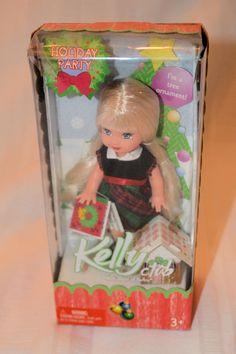 Vintage Barbie Kelly Club Doll Christmas Holiday Party Mattel G8855 2005 | eBay