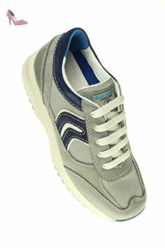 Happy A, Sneakers Basses Femme, Bleu (Denimc4008), 40 EUGeox