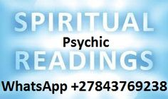 Distance Psychic Reading, Call / WhatsApp: +27843769238
