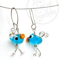 The duglebird earrings  http://marked.epla.no