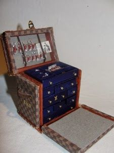 Alter Louis Vuitton Koffer my miniature is a big amusement louis vuitton trunk 2