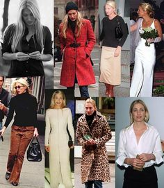 Carolyn Bessette Kennedy - she was meant to live in New York City in the autumn, her whole style was suited for it