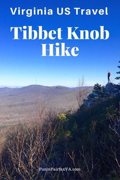 The 3 mile out-and-back Tibbet Knob hike delivers gorgeous views and a rocky climb along the West Virginia border in George Washington National Forest.