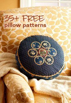Beautiful Free Pillow Patterns
