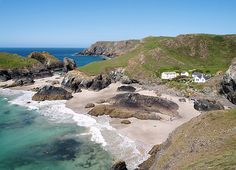 Kynance cove, is situated on the Lizard peninsula approximately two miles north of Lizard Point. Kynance Cove and the surrounding coast are owned by the National Trust #Cornwall