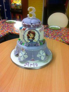 Princess Sofia cake disney birthday