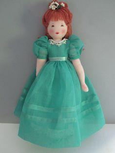 Emily, an Edith Flack Ackley pattern doll,. $49.00, via Etsy.