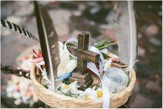 Basket of Blessings during a #mayanceremony in #guatemala on #lakeatitlan #wedinguatemala