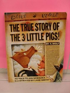 "Place value activities to do with ""The True Story of the 3 Little Pigs"". I would have never thought to use this book to teach place value. Great for lower elementary."