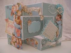 Tri shutter card video tutorial - annes papercreations
