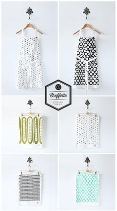 Lint & Honey, home goods, tea towels, throw pillows, home decor, interior design, graphic prints