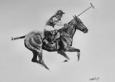 Beautiful Equine horse LE Polo print 'Get by heatherirvinefineart, $16.00
