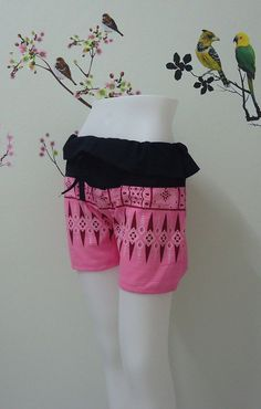 Pink shorts really awesome Etsy listing at https://www.etsy.com/listing/195262057/pink-shorts-handmade-in-thailand
