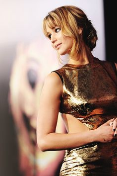 JenniferLawrence beautiful girl golden perfect sexi the huger games