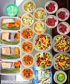 PEANUT BUTTER AND FITNESS: Meal Prep - Week of March 7th