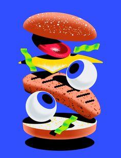 Burgerhead on Behance