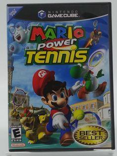 Mario Power Tennis Complete Nintendo Gamecube  #gamer #nintendo #gamers #rare #mario #retrogaming  #guygamer #girlgamer #art #collector #retrogame #videogames #vintage #nerd #3ds #retrovideogames #retro #gba #gamecube #MarioTennis #8bit #Tennis #gameboy #16bit #GCN