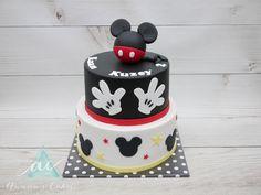 Mickey mouse handjes taart