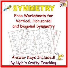 Free Symmetry Worksheets