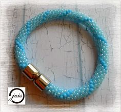 beautiful polish beaded crochet bracelets