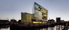 Henning Larsen Architects has won an international architectural competition for designing the Spiegel Group's new headquarters in Hamburg. Henning Larsen, Old Port, Waterfront Property, Willis Tower, Skyscraper, Images, Shots, Around The Worlds, Inspiration