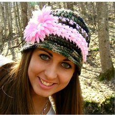 Camo and Pink Bucket Style Hat | Clothing Creation | ok, my daughters will love this!