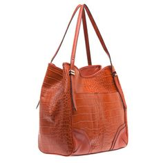 Franco Sarto 'Bleeker' Large Leather Tote Bag | Overstock.com Shopping - Great Deals on Franco Sarto Tote Bags