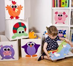 Habitación infantil - Cajas de almacenaje - Children's room - hecho a mano en DaWanda.es