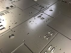 CNC punched mild steel enclosure blanks with formed ventilation louvres produced our our Trumpf 200 CNC punch press Mild Steel Sheet, Steel Sheet Metal, Sheet Metal Work, Cnc Press Brake, Metal Manufacturing, Fiber Optic Lighting, Portsmouth, Hampshire, Metal Working