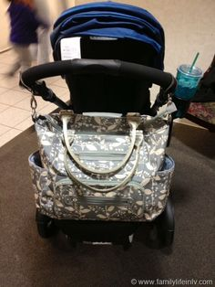 Stroller Diaper Bag...I SO WANT THIS FOR MY BABY!